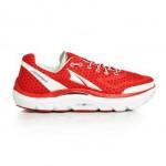 altra paradigm red running shoe