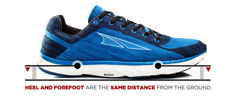Low Drop Running Shoe Benefits