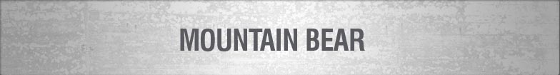 Mountain Bear Clearance Items Whilst Stock Lasts