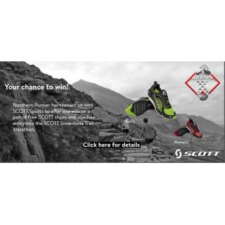 Win a Free Pair of Scott Shoes and Free Entry Into Snowdonia Marathon