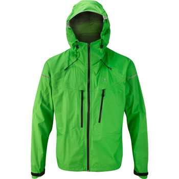 Trail Tempest Waterproof Running Jacket Alpine/Black Mens at ...