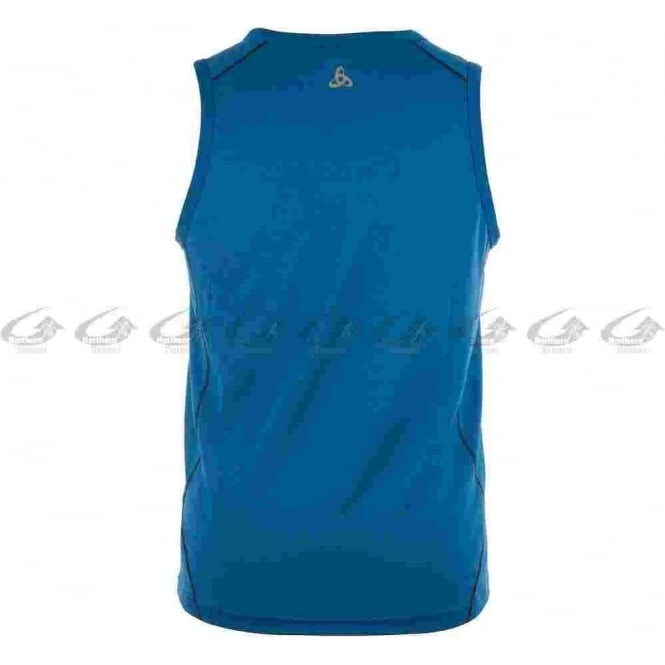 Lucid Mens Running Singlet Majestic Blue