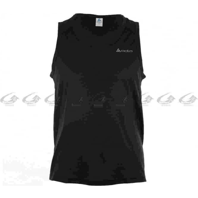 Lucid Mens Running Singlet Black