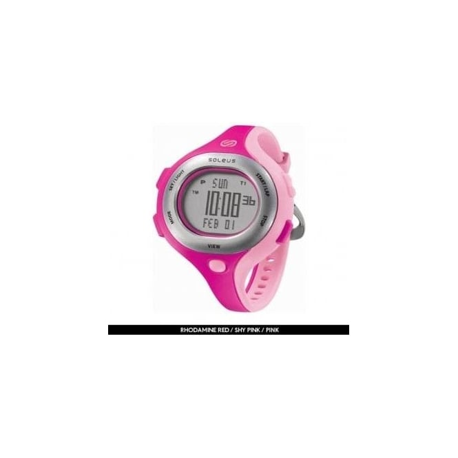 Soleus Chicked Running Watch Women's Pink