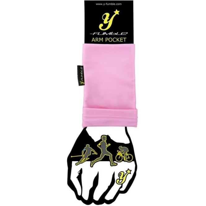 Y-Fumble Running Arm Pocket Pink