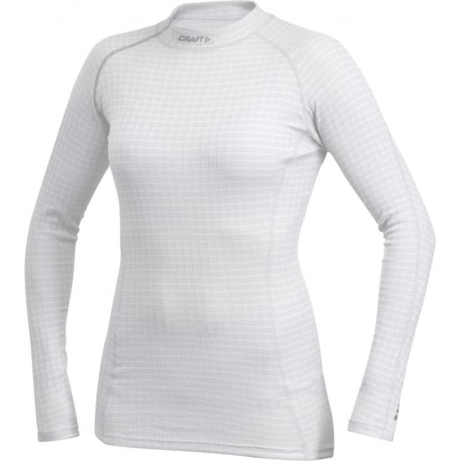 Craft Zero Extreme Long Sleeve Base Layer White/Silver Women's