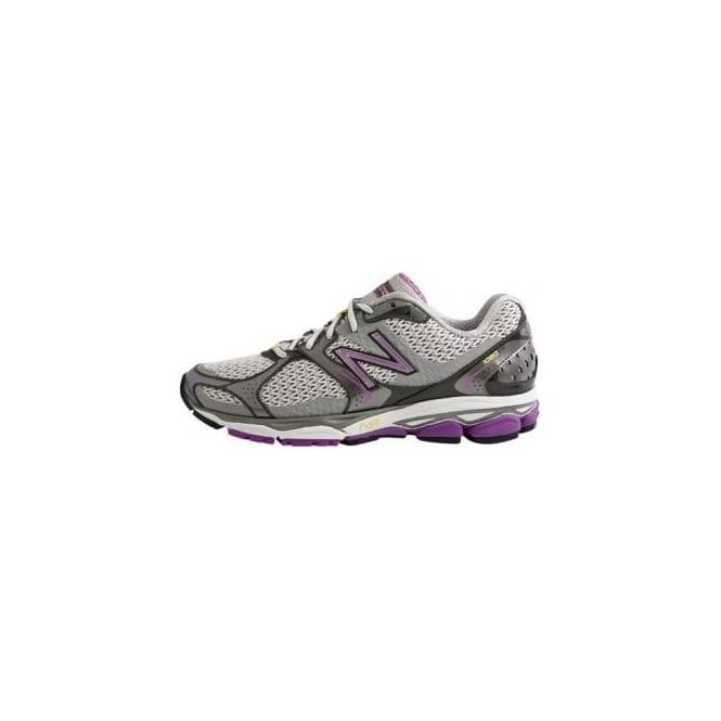 new balance 1080 womens. new balance 1080 v2 road running shoes lavender/silver (b width - standard) womens
