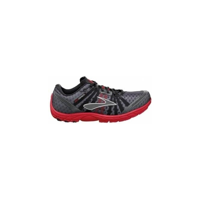 Brooks Pure Connect Road Running Shoes Black/Red/Silver Mens