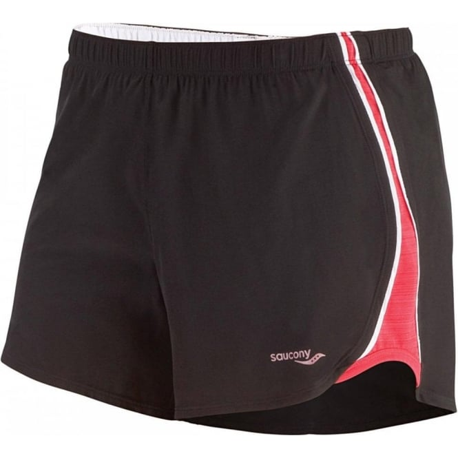 Run Lux Mod Short Black/Karma Women's