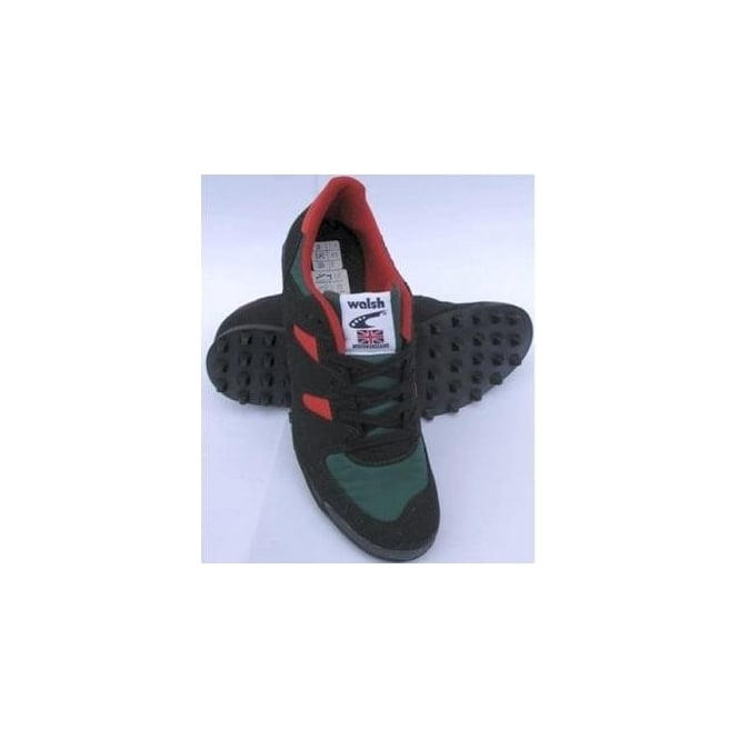 Walsh PB Elite Racer Fell Running Shoes Black/Green/Red
