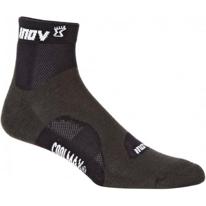 Inov8 Racesoc Mid Grey/Black (Twin Pack)