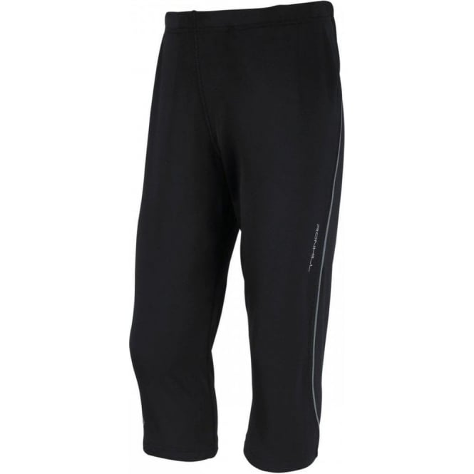 Ronhill Junior Pursuit Capri Tight Black/Reflective