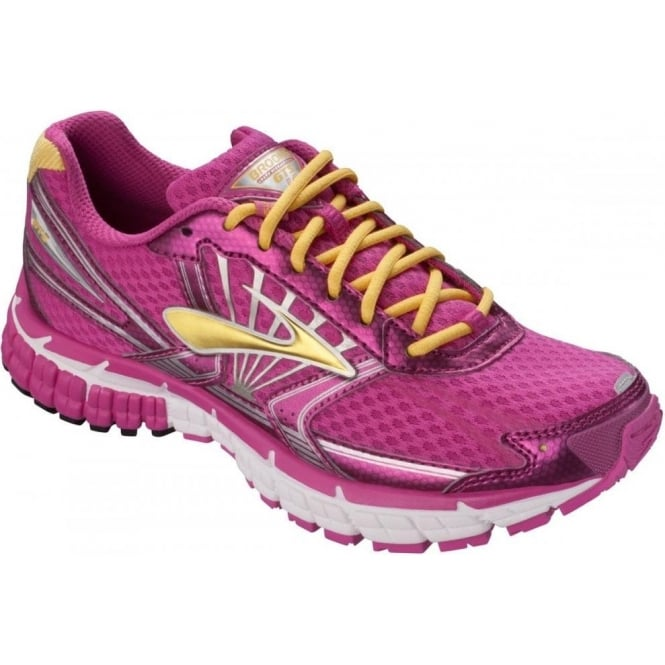 Kids Adrenaline GTS 14 Road Running Shoes Pink Girls