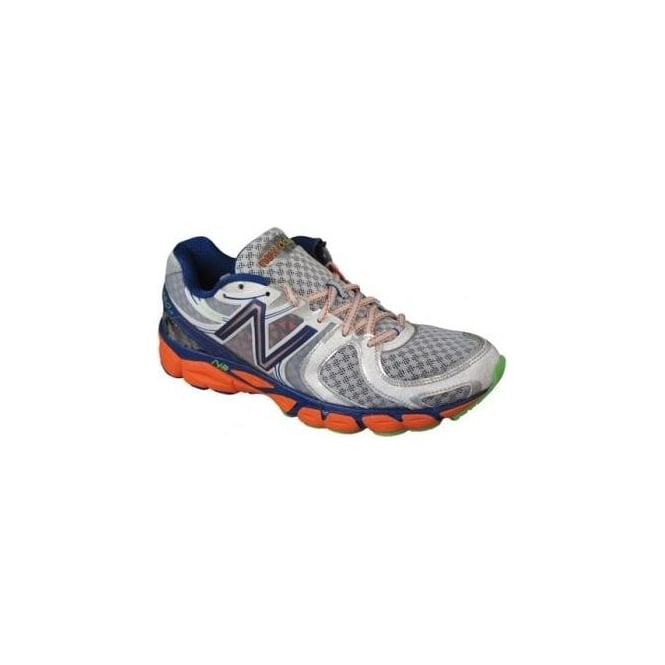 1260 V3 Silver/Orange Road Running Shoes (D WIDTH - STANDARD) Mens