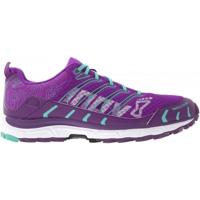 Inov8 Race Ultra 290 Trail Running Shoes Purple/Teal Womens