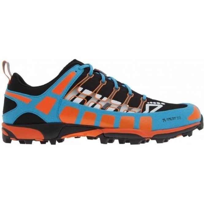 Inov8 X-Talon 212 Off-Road Running Shoes UNISEX PRECISION FIT Black/Orange/Blue