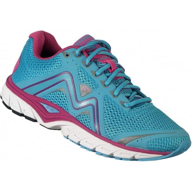 Fast 5 Fulcrum Road Running Shoes BlueAtoll/Berry Womens
