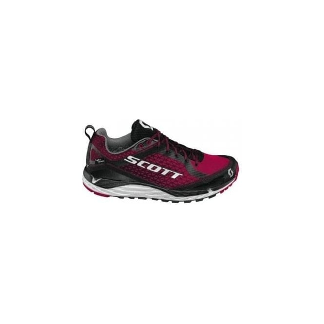 Kinabalu T2 HS Trail Running Shoes Black/Cayenne Red Womens