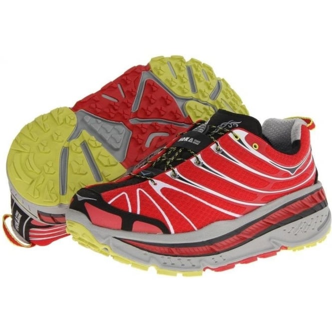 Stinson Trail Running Shoes Red/Light Grey/Black Mens