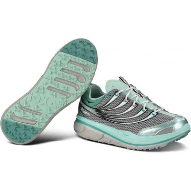 Kailua Trail Running Shoes Grey/Light Blue/White Womens