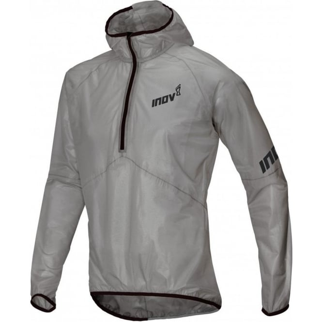 Inov8 Race Ultrashell HZ U - Gargoyle Transparent Unisex Waterproof Jacket
