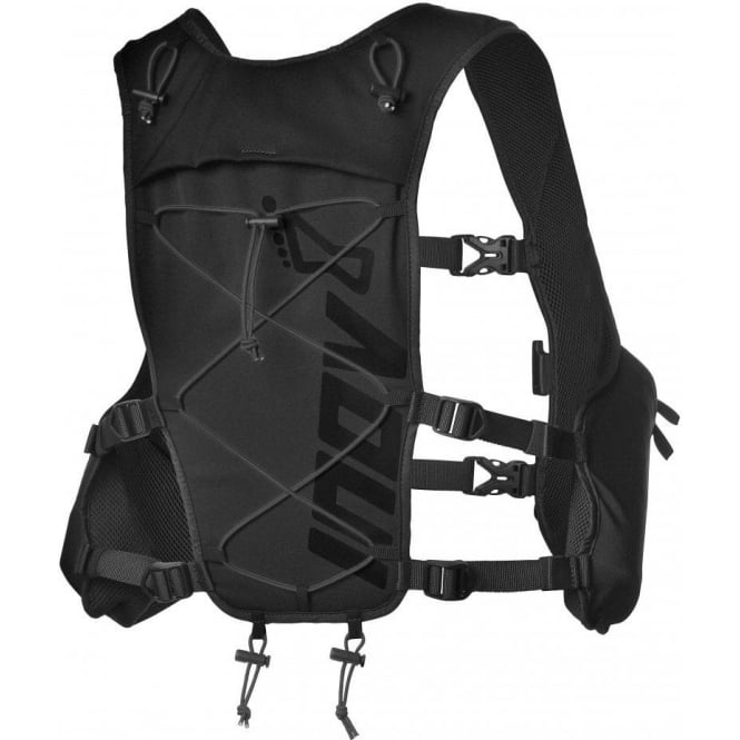 Race Elite Vest 4L Black (With Bottles)