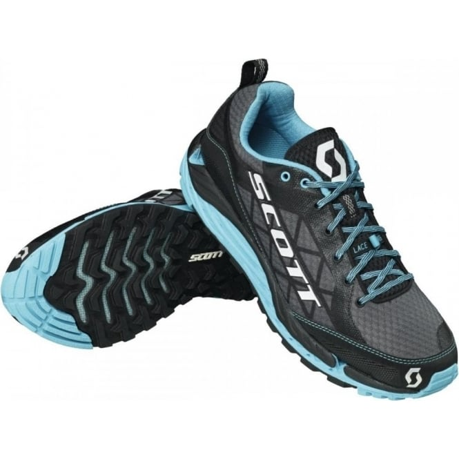 T2 Kinabalu 3.0 Trail Running Shoes Grey/Blue Womens