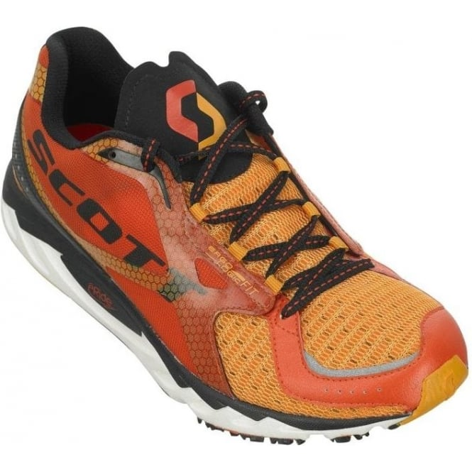 ERide AF Trainer Road Running Shoes Orange/Black Mens