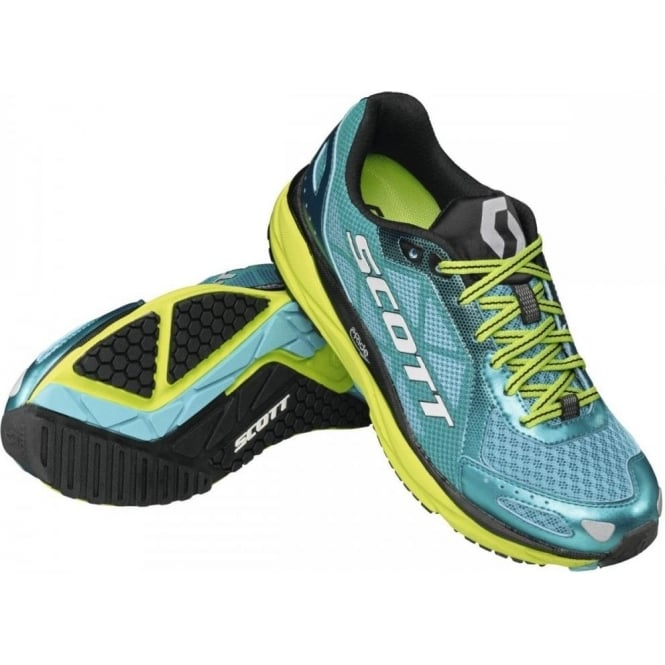 AF+ Trainer Road Running Shoes Blue/Yellow Womens