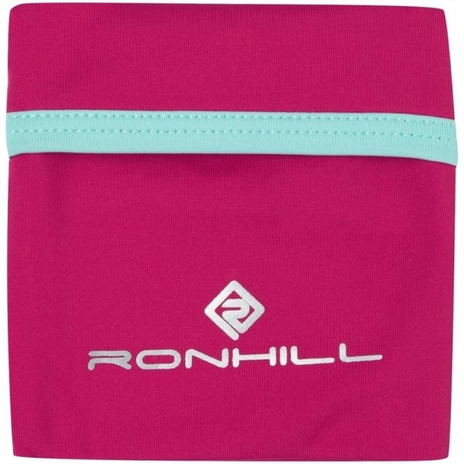Stretch Wrist Pocket Cerise/Aquamarine