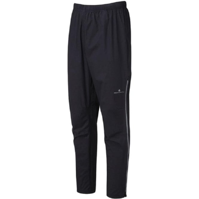 Ronhill Trail Tempest Waterproof Running Pant Black/Rock Grey Mens