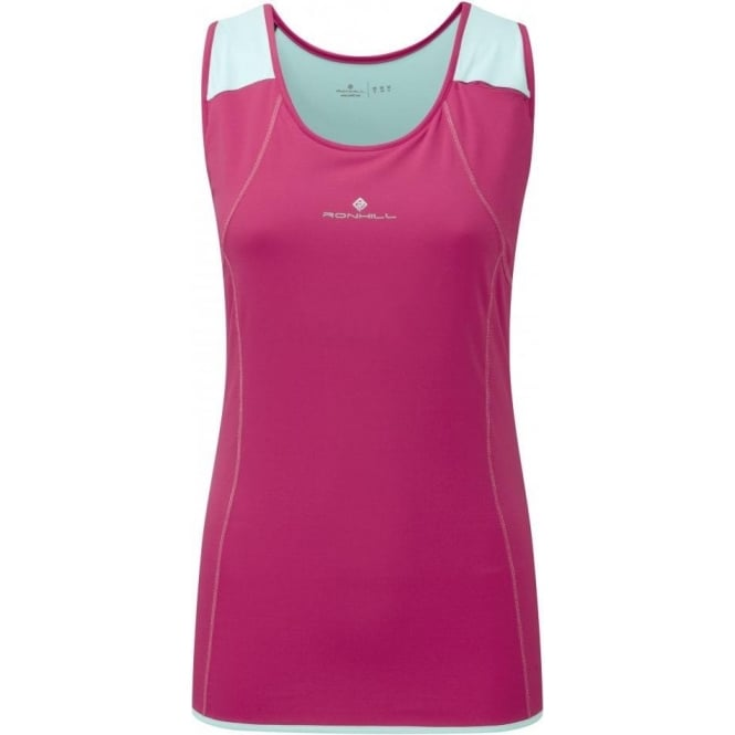 Ronhill Trail Cargo Tank Royal Cerise/Aquamarine Womens