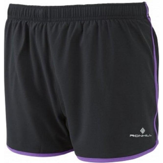 Trail Cargo Short Black/Royal Purple Womens