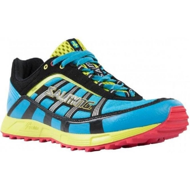 Trail T1 Trail Running Shoes Cyan/Blue Mens
