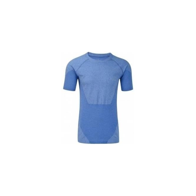 Advance Cool Knit Short Sleeve Tee Electric Blue Mens