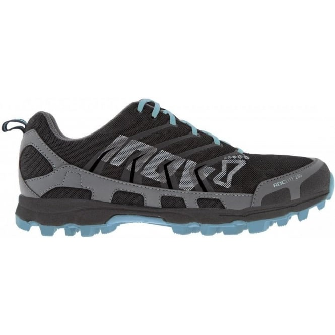 Inov8 Roclite 280 Trail Running Shoes Grey/Light Blue Womens