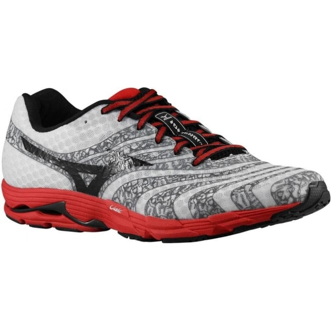 Mizuno Wave Sayonara 2 White/Black/Chinese Red Mens