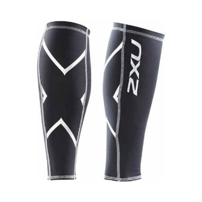 2XU Compression Calf Guards Unisex Black