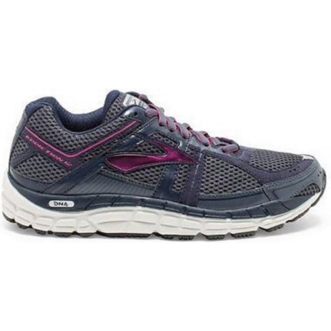 Brooks Addiction 12 Grey Womens B WIDTH - STANDARD Womens