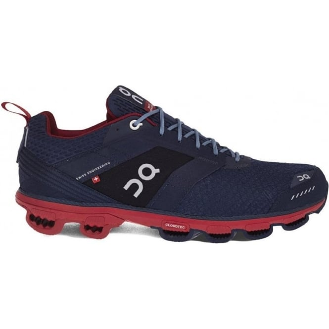 ON Cloudcruiser Mens Road Running Shoes Midnight & Mars