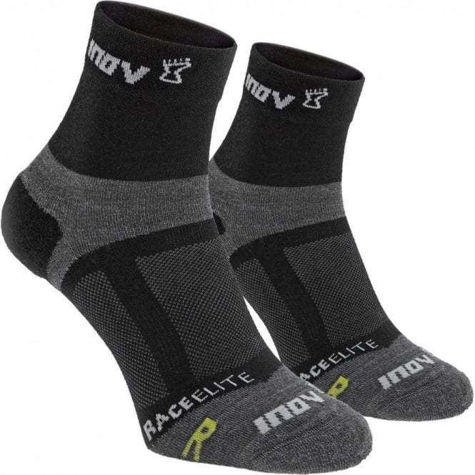 Inov8 Race Elite Sock Mid Black Twin Pack