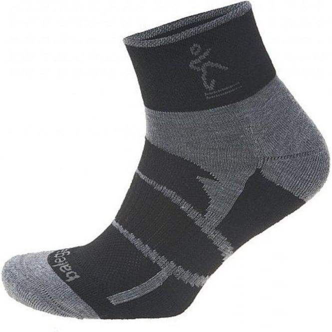 Balega Enduro V-Tech Quarter Black/Grey