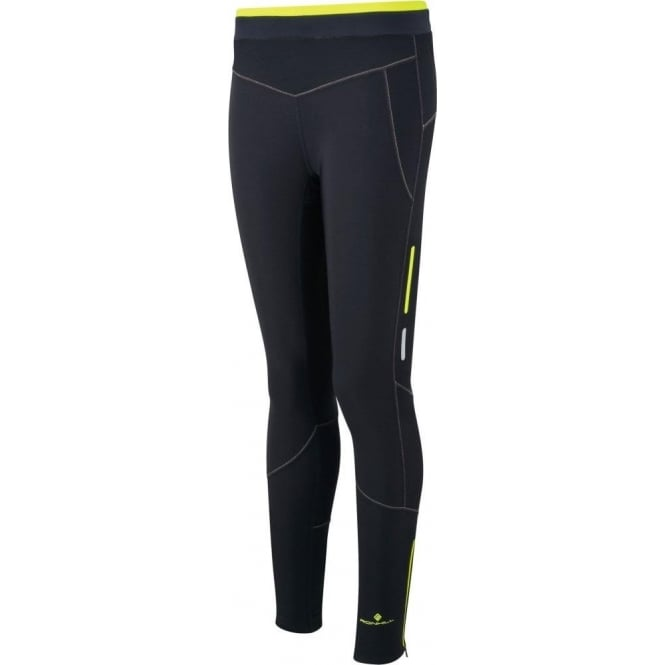 Ronhill Winter Tight Black/Yellow Womens