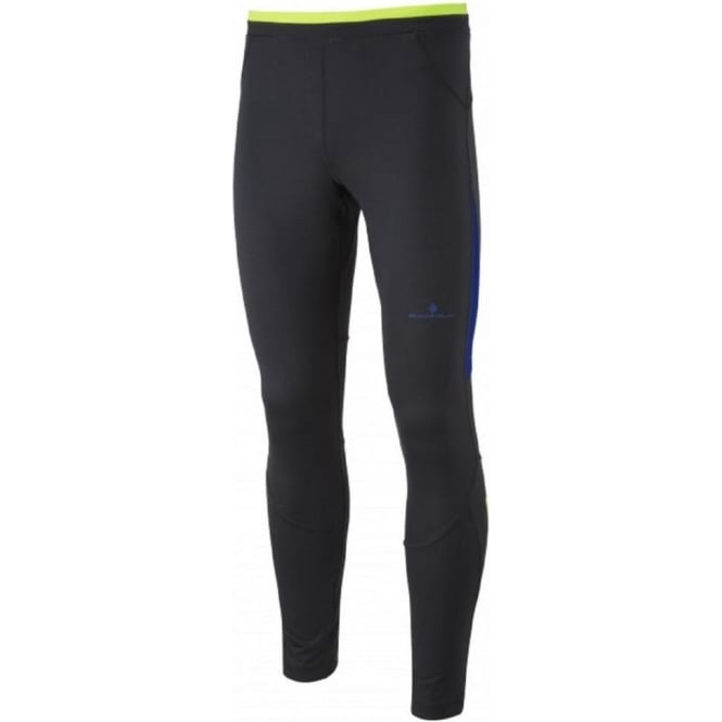 Ronhill Vizion Contour Tight AW15 Black/Blue/Yellow Mens