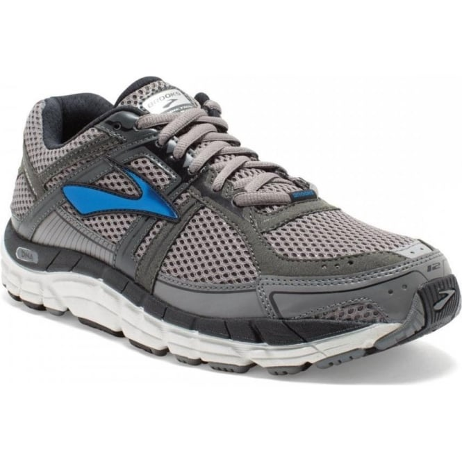 Brooks Addiction 12 Grey Mens D WIDTH - STANDARD