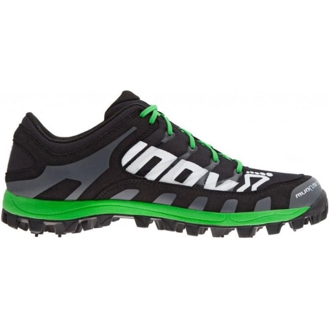 Inov8 Mudclaw 300 UNISEX PRECISION FIT Fell Running Shoes Black/Grey/Green