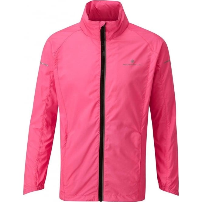 Ronhill Junior Pursuit Jacket Fluo Pink/Black