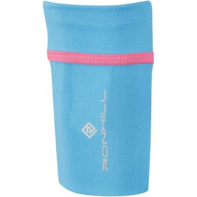 Stretch Arm Pocket Sky Blue/Rose