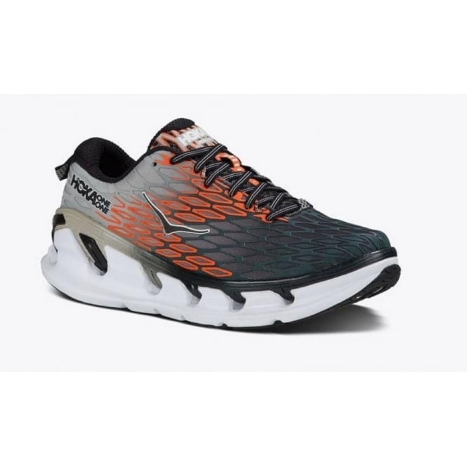 Vanquish 2 Mens Road Running Shoes Grey/Orange Flash