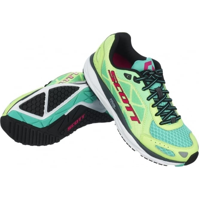 Scott Palani Trainer Green/Pink Womens